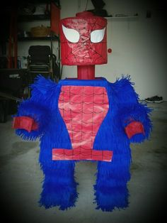 Lego Spiderman piñata!