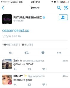 @future's post crashed the @ceaseanddesist.us site ..positive blessings  Check out www.ceasendesist.us  We're working on this issue as we speak thank you!