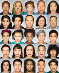 National Geographic - Changing Faces