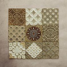 Ceramic Pottery, Ceramic Art, Art Chinois, Tadelakt, Kitchen Paint Colors, Art Japonais, Clay Tiles, Rustic Colors, Handmade Tiles