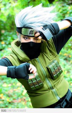 Kakashi Hatake, personaje del anime 'Naruto' #cosplays
