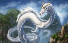 Chinese dragon by Azany