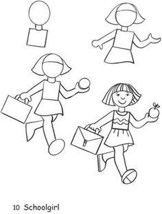 çocuklarla Insan çizimi Googleda Ara Resim çizme Drawing