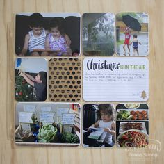 by Susan: Stampin' Up's Project Life Seasonal Snapshot 2015 December page