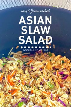 Asian Slaw Recipe With Ramen Noodles, Best Ramen Noodles, Raman Noodle Salad, Asian Ramen Noodle Salad, Ramen Coleslaw, Coleslaw Salad, Broccoli Slaw Recipes, Asian Slaw Recipes, Asian Slaw Salad