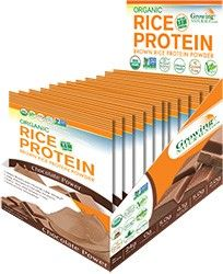 Rice Protein Isolate Powder - Chocolate Power -Single Serve Packets http://www.growingnaturals.com/store/index.php/products/rice-protein-isolate-powder-chocolate-power-packets-23.html
