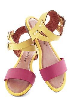 c1920bf2bd1f Pink Lemonade Sips Sandal - Yellow