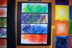 Adventures in Art: Spring Art Show; part 2 Classroom Art Projects, Easy Art Projects, Art Classroom, Group Projects, Classroom Ideas, Special Needs Art, Sensory Art, Jr Art, Speed Art