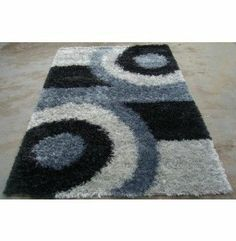 Buy Rugsville Silky Shag Grey Rug 10930 for only $330.16 in Silk rugs at Rugsville.com