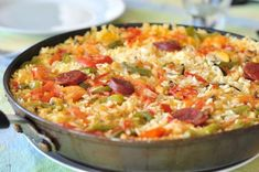 Ham stock is perfect for this paella, made with meaty monkfish and spicy chorizo. It looks stunning garnished with prawns and lemon wedges. What Is Cholesterol, Cholesterol Symptoms, Cholesterol Lowering Foods, Cholesterol Guidelines, Eggs Cholesterol, Cholesterol Levels, Chorizo, Monkfish Recipes, Best Risotto