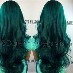 the red I normally get, with green lowlights? Green or more teal? Or Blue? Decisions decisions