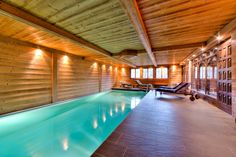 Exclusive property in Swiss Alps, chalet with huge indoor pool. Find out more about this incredible property. Natural Landscaping, Jacuzzi Outdoor, Relaxing Holidays, Us Real Estate, Cozy Fireplace, Swiss Alps, Public Transport, Nice View, Switzerland
