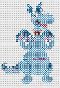 Stuffy - Disney Doc McStuffins Perler pattern by Pia Petrea