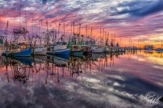Sunset from the Pass Christian Harbor. Photographer Brian Wright captured the Mississippi Gulf Coast beautifully in this photo, didn't he? Pass Christian, Coast Hotels, National Weather, Beautiful Sunrise, Gulf Of Mexico, New Travel, Usa Today, Mississippi, Cool Photos