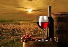 Enjoying wine!