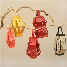 Chinese lanterns...Olympic crafts
