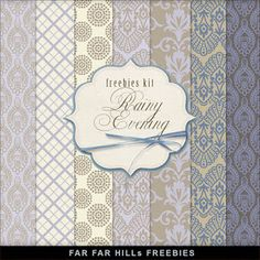 """Sunday's Guest Freebies ~ Far Far Hill ✿ Join 8,000 others. Follow the Free Digital Scrapbook board for daily freebies. Visit GrannyEnchanted.Com for thousands of digital scrapbook freebies. ✿ """"Free Digital Scrapbook Board"""" URL: https://www.pinterest.com/sherylcsjohnson/free-digital-scrapbook/"""