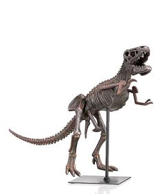 Green Tree Products Bronze T-Rex Skeleton Décor |