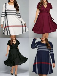 Fashions for women  |Plus size dress in Sammydress|  #Plus size