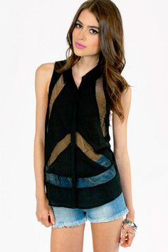 See Rite Through Button Up Top $60 http://www.tobi.com/product/50765-tobi-see-rite-through-button-up-top?color_id=68156_medium=email_source=new_campaign=2013-06-26