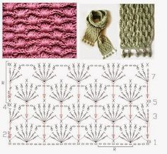 Patterns and motifs: Album crocheted pattern 2
