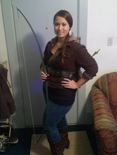 Hunger Games #Halloween Costume - Katniss Everdeen