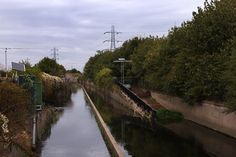 In pictures: The path of the river Lee Railroad Tracks, Paths, England, River, Pictures, Photos, Pathways, England Uk