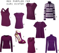 Red Purples for Dark Winter