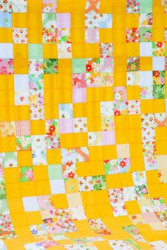 Looks like a simple beginners quilt