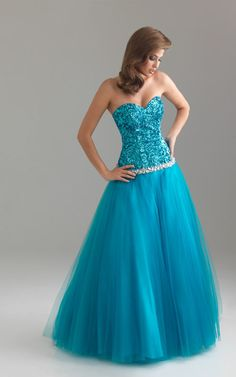 Night Moves 6422 Blue Ball Gowns 2012 Sale -