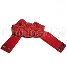 Cinturón-fajín Sirkel en rojo