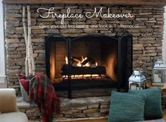 Fireplace Makeover P