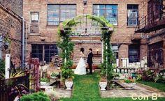 patio para boda