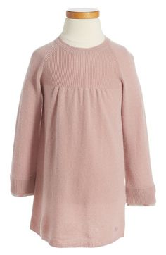 Burberry Ivanna Cashmere Sweater Dress (Baby Girls & Toddler Girls) available at #Nordstrom