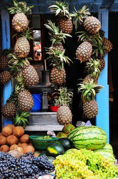 Fruit store Kathmandu, Nepal