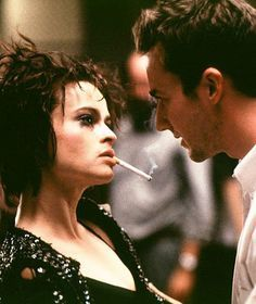 Marla Singer & The Narrator in Fight Club