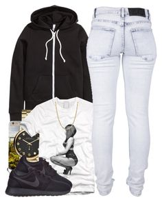 """""""11/20/15"""" by clickk-mee ❤ liked on Polyvore featuring H&M, Marc by Marc Jacobs, Nicki Minaj, Cheap Monday and NIKE"""