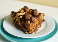 Peanut Butter Cup Cherrios Bars