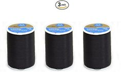 Coats  Clark Dual Duty AllPurpose Thread 400 Yds Black ONE spool of yarn 3 >>> Want additional info? Click on the image. (Note:Amazon affiliate link)