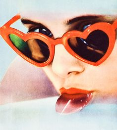 Lolita Lunettes Coeur, Sucettes, Femme, Film Movie, Formes De Coeur,  Lunettes 58781f8bd299