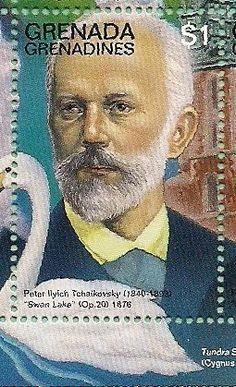 Stamps of Piotr Ilyich Tchaikovsky