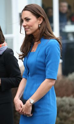 Kate Middleton Photos - The Duchess Of Cambridge Attends The ICAP Art Room Opening At Northolt High School - Zimbio