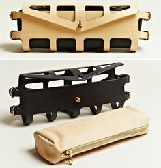 Fleet Ilya is a London-based design brand, headed by Ilya Fleet and Resha Sharma, that creates a line of handcrafted leather accessories.