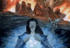 Feanor and his sons by aegeri on DeviantArt - Through sorrow to find joy, or freedom at least.