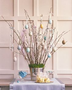Easter Egg Tree How-To