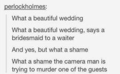 Sherlock, as told by Panic! At The Disco