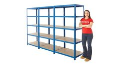 BiGDUG Value Shelving Mega Deal Loft Storage, Workshop Storage, Shed Storage, Garage Storage, Storage Boxes, Storage Ideas, Garage Shelving, Shelves, Bike Shed