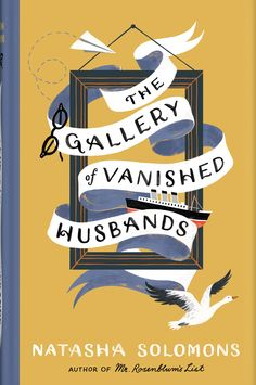 Book Cover Design for 'The Gallery of Vanished Husbands'. © Jim Tierney 2013
