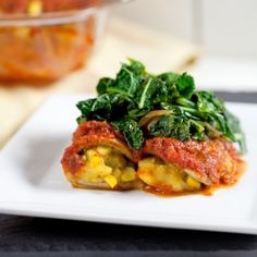 Eggplant Canneloni & a Giveaway!