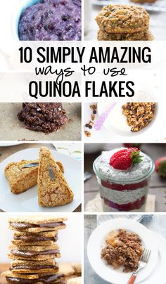 There are so many ways to use quinoa flakes, but this post narrows down the list and brings together the most popular ways you can use quinoa flakes.
